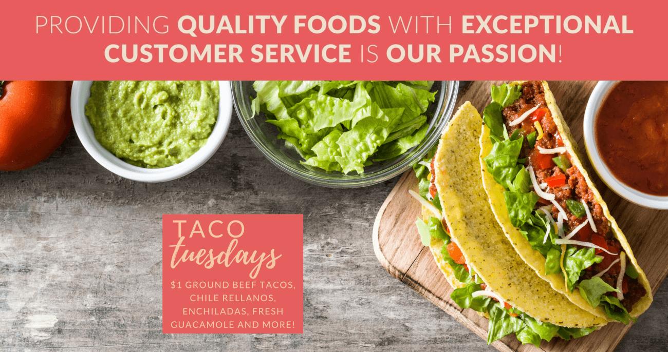 Taco Tuesday slider image