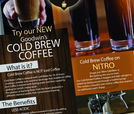 Cold Brew Coffee Flyer